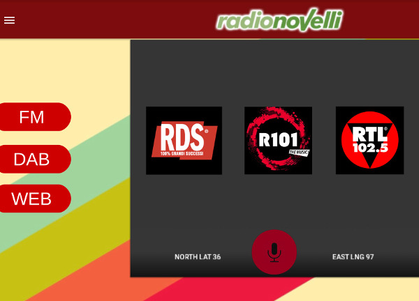 presentazione funzionalità radio