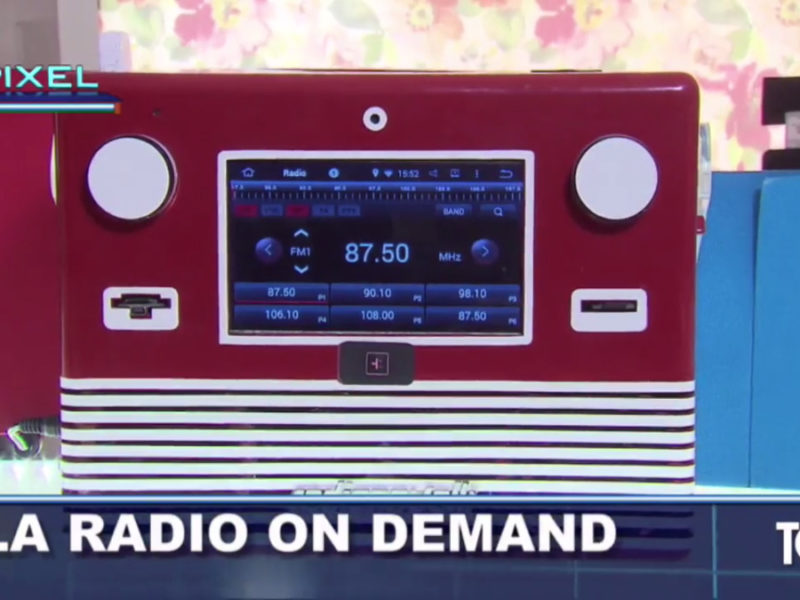 La Radio 4G presentata su TG3 Pixel