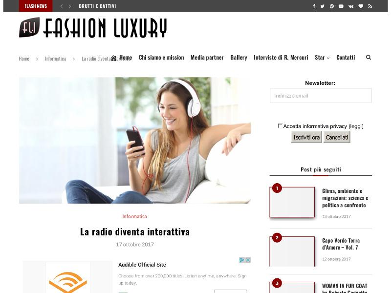 La radio diventa interattiva