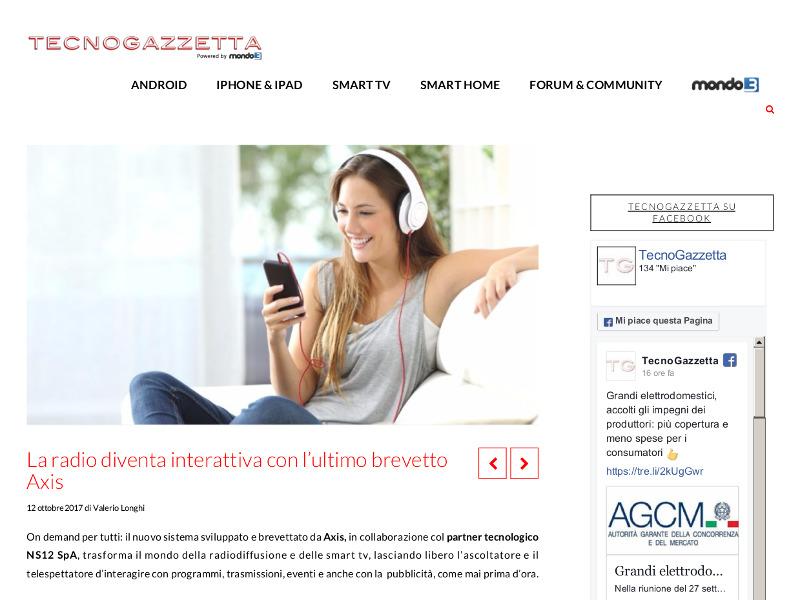 La radio diventa interattiva con l'ultimo brevetto Axis