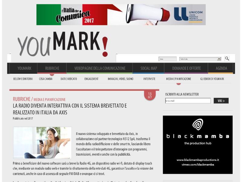 La radio diventa interattiva con il sistema brevettato e realizzato in Italia da Axis